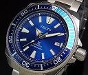 SEIKO/PROSPEX/200m diver's watch【セイコー/プロスペックス/200m防水ダイバーズ】サムライ ブルーラグーン 自動巻 メンズ腕時計 メタルベルト ブルー文字盤 海外モデル SRPB09K1