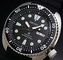 SEIKO/PROSPEX/200m diver's watch【セイコー/プロスペックス/200m防水ダイバーズ】自動巻 ブラックベゼル メンズ腕時計 ラバーベルト ブラック文字盤 MADE IN JAPAN 海外モデル【並行輸入品】SRP777J1