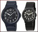 CASIO/Standard【カシオ/スタンダード】アナログクォーツ ペアウォッチ 腕時計 ラバーベルト ブラック 海外モデル【並行輸入品】MW-240-1B/MQ-71-1B