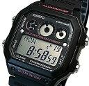 ショッピングチープカシオ CASIO/Standard【カシオ/スタンダード】デジタル カウントダウンタイマー メンズ腕時計 ラバーベルト ブラック/ピンク 海外モデル【並行輸入品】AE-1300WH-1A2