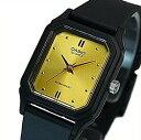 CASIO/Standard【カシオ/スタンダード】アナログクォーツ レディース腕時計 ラバーベルト ゴールド文字盤 海外モデル【並行輸入品】LQ-142E-9A