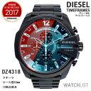 ディーゼル 腕時計 クオーツ メンズ クロノ ブラック DZ...