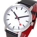 モンディーン MONDAINE 腕時計 メンズ A660.30360.16OM クォーツ ホワイト ...