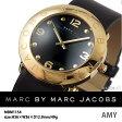 【送料無料】【あす楽】マークバイ マークジェイコブス MARC BY MARC JACOBS 腕時計 MBM1154 イエローゴールド
