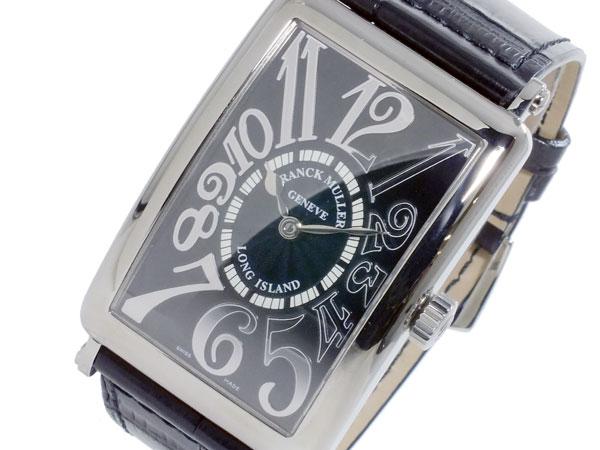 フランクミュラー FRANCK MULLER ロングアイランド 自動巻き メンズ 腕時計 1000SC-REL-BLK-BLK