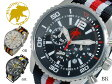 【送料無料】ハンティングワールド HUNTING WORLD ゼフィロ クオーツ クロノ メンズ 腕時計 替えベルト付 HW019BK