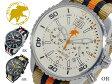 【送料無料】ハンティングワールド HUNTING WORLD ゼフィロ クオーツ クロノ メンズ 腕時計 替えベルト付 HW019OR