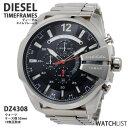 ディーゼル DIESEL クオーツ メンズ クロノ 腕時計 DZ4308 ブラック