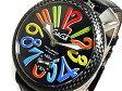 【送料無料】ガガミラノ GaGaMILANO マニュアーレ48 手巻き メンズ 腕時計 5015.01S-BLK