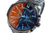 【送料無料】【あす楽】ディーゼル DIESEL クオーツ メンズ クロノ 腕時計 DZ4318 ウォッチ 時計 うでどけい