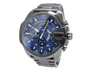 ディーゼルDIESELメガチーフMEGACHIEFクオーツクロノグラフメンズ腕時計DZ4329メンズMensウォッチ時計うでどけい