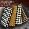 ヴァセロンハーツ VACHERON HEARTS 長財布 VH-831BKCAM ブラック/キャメル