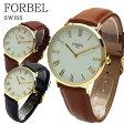 【あす楽】フォーベル FORBEL クオーツ ユニセックス 腕時計 FB-50509-CA キャメル