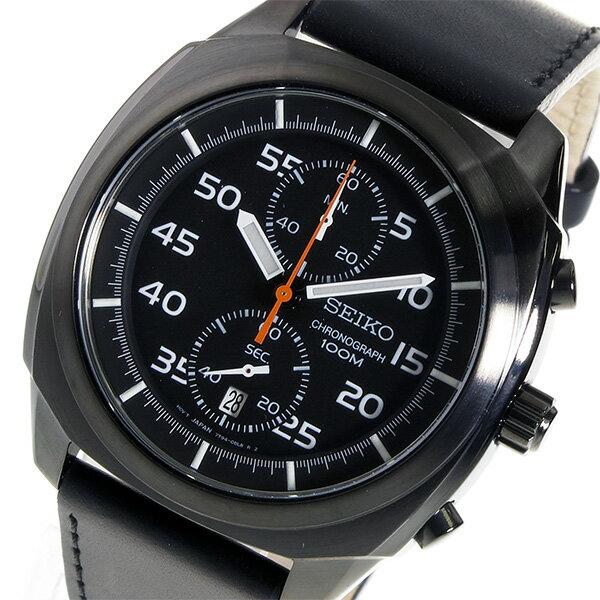 【3/17~3/23 アフターセール実施中!】セイコー SEIKO クロノ クオーツ メンズ 腕時計 SNN217P1 ブラック カジュアル~ビジネスシーンでも使えるインポート腕時計/財布/鞄/バッグ/スーツケースを多数ご用意!ディーゼル/アディダス/チプカシには自信があります!【10800円以上送料無料】