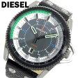 【送料無料】【あす楽】ディーゼル DIESEL ロールケージ ROLLCAGE クオーツ メンズ 腕時計 DZ1717 ブラック