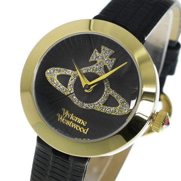 【3/17~3/23 アフターセール実施中!】【送料無料】ヴィヴィアン ウエストウッド クオーツ レディース 腕時計 VV150GDBK ブラック カジュアル~ビジネスシーンでも使えるインポート腕時計/財布/鞄/バッグ/スーツケースを多数ご用意!ディーゼル/アディダス/チプカシには自信があります!【10800円以上送料無料】