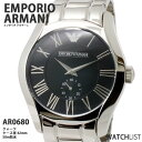 【送料無料】【あす楽】エンポリオ アルマーニ EMPORIO ARMANI 腕時計 AR0680 ウォッチ 時計 うでどけい