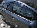 【 BRIGHTZ プリウス αアルファ VW40 ZVW41 超鏡面クロームメッキステンレスウィンドウモール 4PC 】 【 CLB-M41-K 】