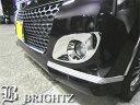 【BRIGHTZ パレットSW MK21S メッキフォグライトカバー Aタイプ】