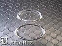 【 BRIGHTZ レガシィ BE/BH系 クロームメッキサイドマーカーリング 2PC 】 【 SID−RIN−046 】
