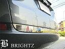 【 BRIGHTZ フィットシャトルハイブリッド GP2 超鏡面ステンレスメッキトランクアンダーモール Bタイプ 】 【 TRU−MOL−076 】