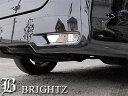 【BRIGHTZ エルグランド E51 超鏡面ステンレスメッキリアバンパーパネル 2PC】