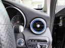【 BRIGHTZ Cクラス W205 アルミフロントエアコンリング 青 】 【 INT−ETC−014 】 W 205 カブリオレ オープン コンバーチブル C180 C300 AMG メルセデスベンツ ブラバス ロリンザー カールソン Lorinser Carlsson BRABUS Mercedes-Benz