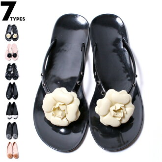 カメリアフラワー-rubber sandals ★ corsage rubber shoes ★ all 7 type 10P28oct13.