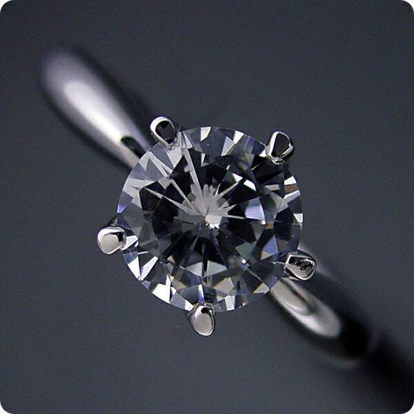 【婚約指輪】1カラット【1ct】ダイヤモンド【...の紹介画像2