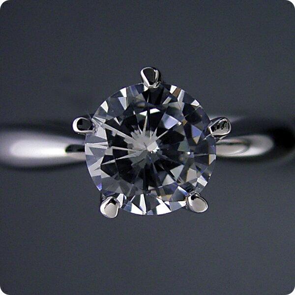 【婚約指輪】1カラット【1ct】ダイヤモンド【...の紹介画像3