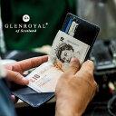 【GLENROYAL / グレンロイヤル】MONEY CLIP WITH COIN POCKET(フルブライドル)(マネークリップ メンズ レディース レザー 本革 財布 クリスマ...