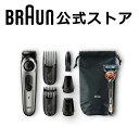 BRAUN (ブラウン) 電動バリカン ヒゲトリマー BT7040 0.5mm幅 39段階長さ調節 水洗い可