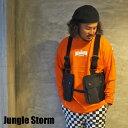Jungle Storm ジャングルストーム バッグベスト BAG VEST ベスト 110075 メンズ レディース ナイロン アウトドア キャンプ バッグ 軽量 キャンパーベスト アウトドアベスト フェス ポケット 釣り フィッシングベスト 山 海 登山