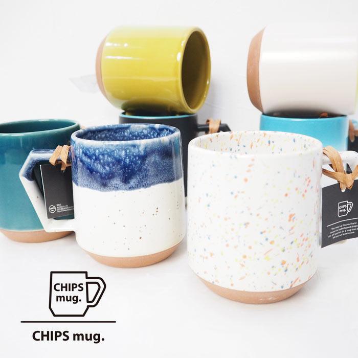 CHIPSチップスCHIPSMUGCHIPSマグカップマグカップコップ美濃焼き大きい大きめ大容量38