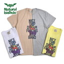 "Naturalbicycle(ナチュラルバイシクル)Cotton T ""NICE TRIP EZO BAND"""