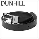 ダンヒル ベルト dunhill HPD810A42 ブランド小物 メンズ BLACK/GUNMETALLIC(ガンメタリック) ブラック シルバー ロゴ リバーシブル バックル シンプル ビジネス スマート【送料無料】