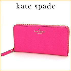 ケイト・スペード(katespade)シダーストリートCEDARSTREETPWRU3898財布・小物長財布ラウンドファスナーシンプルレディース