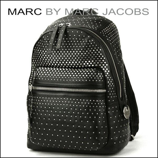 【楽天スーパーセール対象】 マークバイ マークジェイコブス リュックサック MARC BY MARC JACOBS M0007712 001 バッグ レディース BLACK(ブラック) ブラック 黒 鋲 スタッズ バックパック モード カジュアル【送料無料】