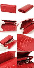 CartierカルティエL3001252ハッピーバースデーレッドポピー長財布12クレジットカードマチ付インターナショナルウォレットレディース%OFF即納・代引/送料無料