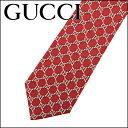 グッチ GUCCI 282873 6463 ネクタイ GGパターンシルクジャカードネクタイ メンズ RED/SILVER レッド 赤/シルバー GGロゴ モノグ...