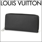 ルイヴィトン 長財布(ラウンドファスナー) Louis Vuitton M32822 財布 タイガ ジッピー ウォレット ヴェルティカル メンズ アルドワーズ ブラック 黒 【ルイヴィトン ビトン 送料無料】