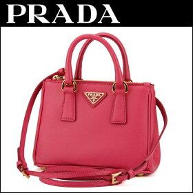 プラダ(PRADA)サフィアーノルクスSAFFIANOLUXBN2842NZVF0505バッグハンドバッグショルダーバッグミニバッグパーティバッグ2way三角ロゴキュート華やかレディース