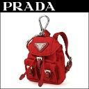 プラダ キーホルダー PRADA 1TT010 ENX F0011 ブランド小物 ベラ トリック VELA TRICK レディース ROSSO(ロッソ) レッド 赤 リュック バッグ 三角ロゴ キュー