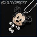 スワロフスキー ネックレス SWAROVSKI 1126548 アクセサリー レディース SILVER+BLACK(シルバー+ブラック) シルバー+ブラック 黒 ディズニー ミッキーマウス【送料無料】