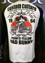Peak'd Yellow ピークドイエロー長袖Tシャツ PYLT-155 カスタムカルチャー/アメカジ アメ車 モーター系 お姉ちゃん 女の子