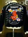 TEDMAN テッドマン別珍サテンリバーシブルスカジャン TSK-041/アメカジ ミリタリー
