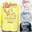 テッドマン7分袖Tシャツ TD7T-308 TEDMAN'S/アメカジ バイカー ミリタリー ベースボールT