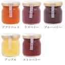 【エントリーで10倍】お得な選べる3個セット お試しサイズ 砂糖のかわりにハチミツたっぷり 手作りハニージャム 50g 全5種類