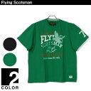 大きいサイズ メンズ Flying Scotsman (フライングスコッツマン) カモ柄 半袖 Tシャツ ◇