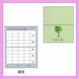 ポイントカード2ツ折りタイプ PCA-006(250枚入)